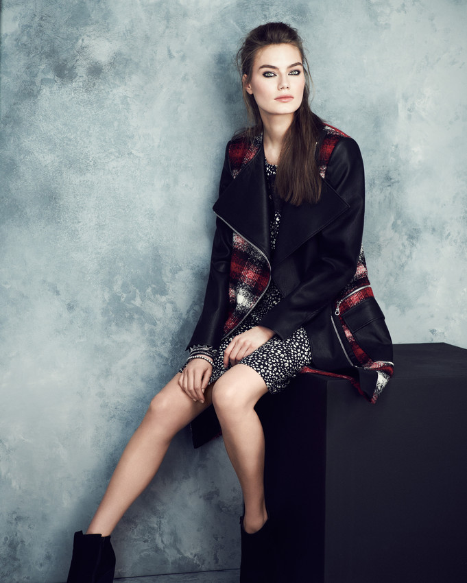 PUNK - Limited Edition Coat £89, Limited Edition Dress £45, Bracelet £19.50, Boot £69-scr
