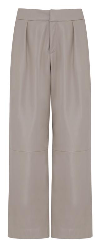 marks-and-spencer-Distinguish! Spodnie z naturalnej skĘry, w kolorze piasku, cena 1199 zą
